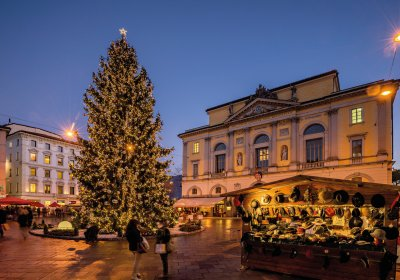 Weihnachtsmarkt in Lugano © Switzerland Tourism/Jan Geerk